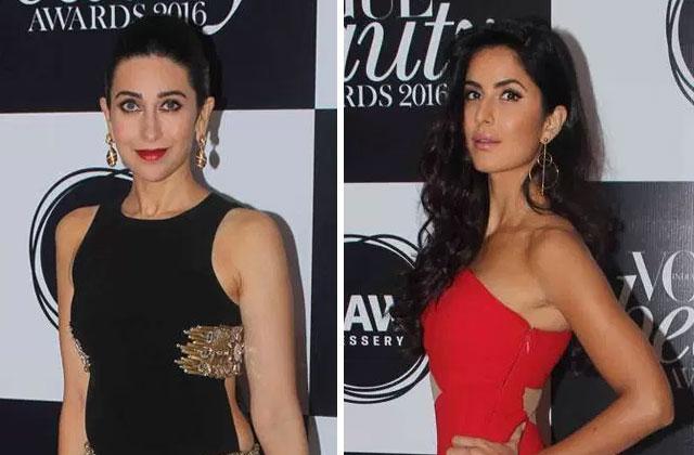 Ranbir, Karishma, Katrina And Many Celebs Spotted At A Beauty Awards Night