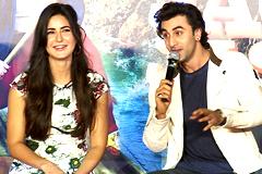Ranbir & Katrina Flirt At Jagga Jasoos Song Launch