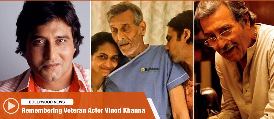Remembering Veteran Actor Vinod Khanna