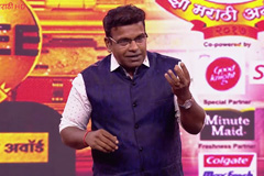 Hrishikesh Joshi's Comedy Act | Zee Marathi Awards 2017