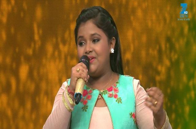 Riya Vishwas Singing Dil Diya Hai Jaan Bhi Denge - Sa Re Ga Ma Pa Lil Champs 2017 - May 21, 2017 |ZEETV