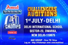 Sa Re Ga Ma Pa Li'L Champs - Challengers Auditions | at Delhi On 1st July