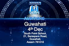 Sa Re Ga Ma Pa Li'l Champs - Guwahati and Gwalior Auditions On 4th December, 2016