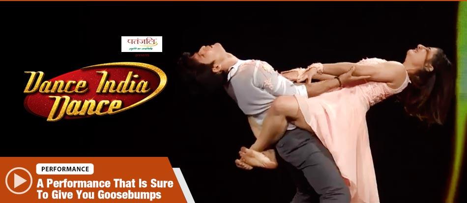 Sachin and Kalpita's Contemporary Style Performance on Heart Stinning Song Dance India Dance 2017 - December 9 | ZEETV