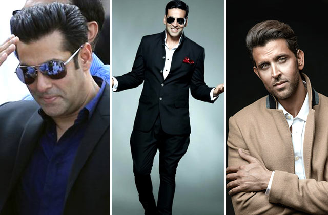 Salman, Akshay & Hrithik To Be The Highest Advance Tax Payer
