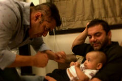 Salman And Sohail Spotted Playing With Aahil