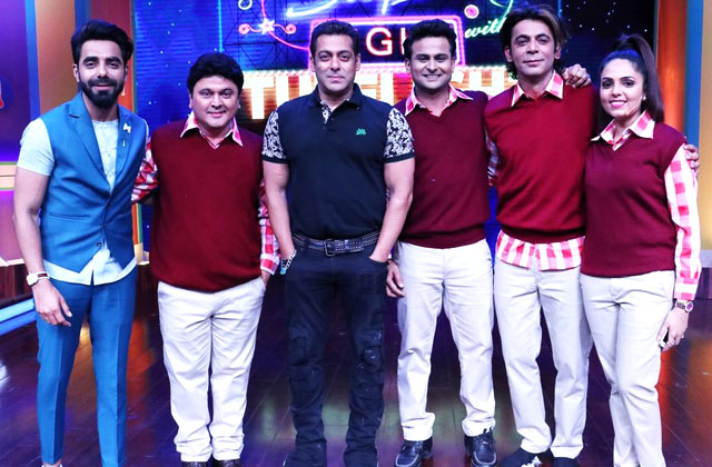 Salman Khan On Super Night With Tubelight