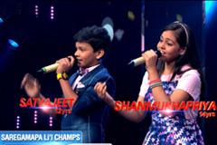 Satyajeet & Shanmukhapriya Sing Chaar Kadam | Sa Re Ga Ma Pa Li'l Champs | Promo| Saturday, 9 PM