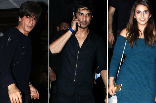 Shahrukh, Sushant & More Stars At Rohini Iyer's B'day Bash