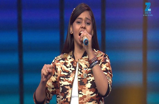 Shanmukhapriya Singing Suno Gaur Se Duniya Walo - Sa Re Ga Ma Pa Lil Champs 2017 - May 21, 2017 |ZEETV