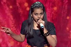 Shanmukhpriya Sing Senorita - Sa Re Ga Ma Pa Lil Champs 2017 - June 24,2017  ZEETV