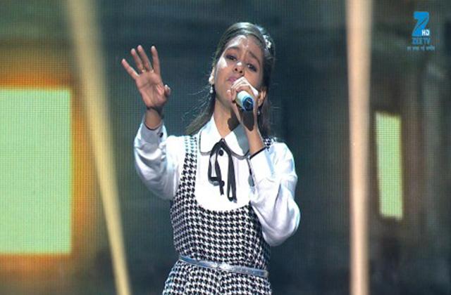 Shanmukhpriya Singing Mera Naam Chin Chin Choo - Sa Re Ga Ma Pa Lil Champs 2017 - June 18,2017 |ZEETV