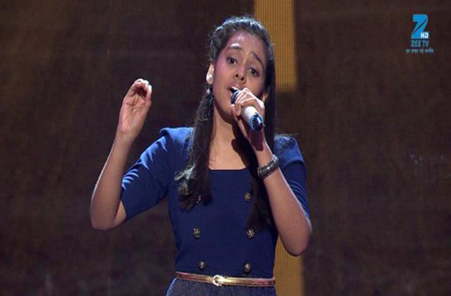 Shanmukhpriya Singing Zindagi Ek Safar Hai Suhana - Sa Re Ga Ma Pa Lil Champs 2017 - June 17,2017 |ZEETV