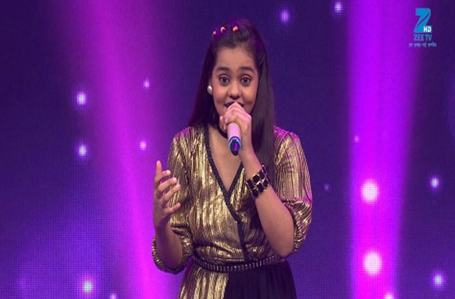 Shanmukhpriya Sings Aunty Ji Sa Re Ga Ma Pa Lil Champs 2017 - October 7, 2017 | ZEETV