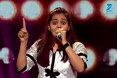 Shanmukhpriya Sings Mohabbat Buri Bimari Sa Re Ga Ma Pa Lil Champs 2017 - August 06, 2017 | ZEETV