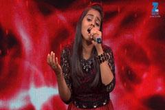 Shanmukhpriya Sings Muskaanein Jhooti Hai Sa Re Ga Ma Pa Lil Champs 2017 - September 17, 2017   ZEETV