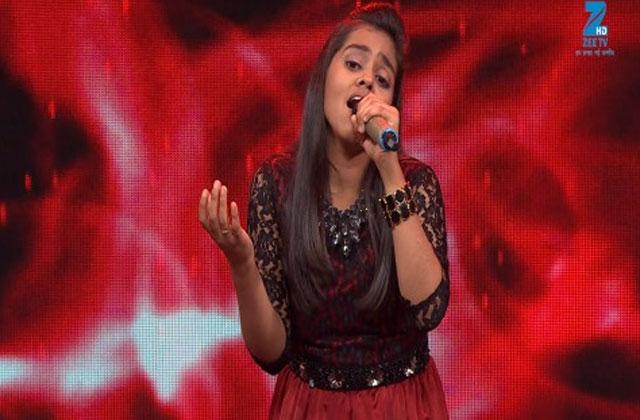 Shanmukhpriya Sings Muskaanein Jhooti Hai Sa Re Ga Ma Pa Lil Champs 2017 - September 17, 2017 | ZEETV