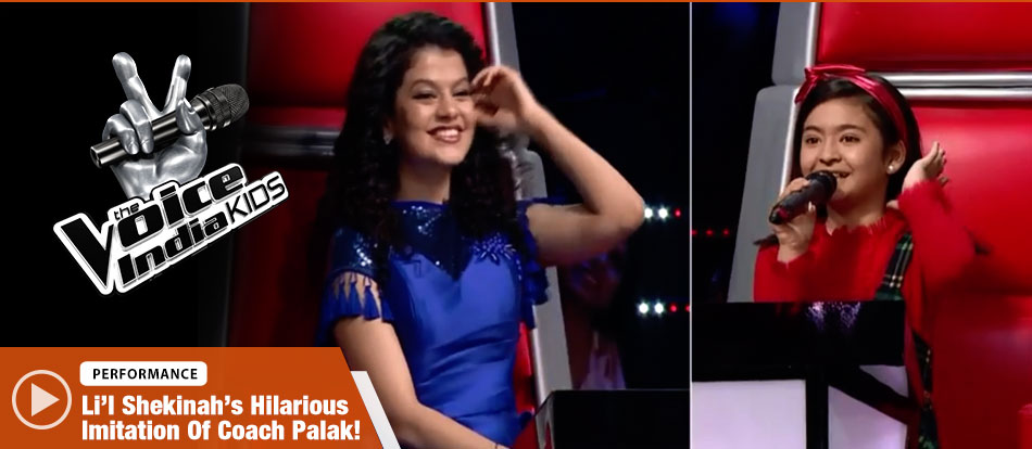 Shekinah Mukhiya Sings Jaane Tu Jaane Tu Ya Jaane Na | The Voice India Kids Season 2 - January 21, 2018 | &(AndTv)