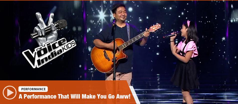 Shekinah Mukhiya Sings Jab Koi Baat Bigad Jaye | The Voice India Kids Season 2 - January 14, 2018 | &(AndTv)