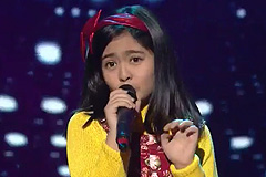 Shekinah Mukhiya Sings Mera Naam Chin Chin Chu | The Voice India Kids Season 2 - January 07, 2018 | &(AndTv)