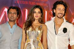 Shroff, Nidhi Agarwal & Nawaz Promote 'Munna Michael'