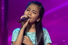 Shruti Goswami Sings On Naina | The Voice India Kids Season 2 - January 13, 2018 | &(AndTv)
