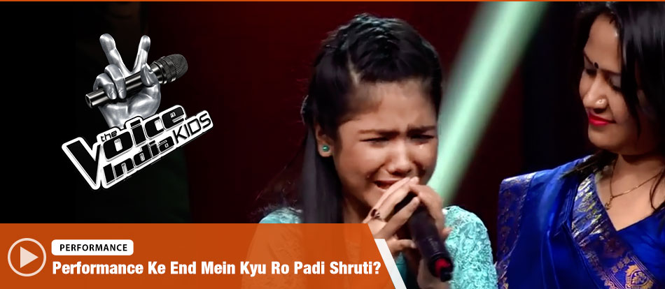 Shruti Goswami Sings On Naina | The Voice India Kids Season 2 - January 13, 2018 | &(AndTv)