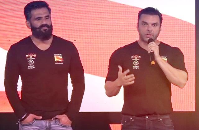 Sohail, Sooraj & Suniel Sheety launch A Fitness App