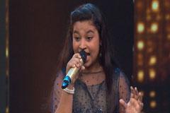 Sonakshi Kar Sings Jane Jaan O Meri Jane Jaan Sa Re Ga Ma Pa Lil Champs 2017 - October 8, 2017   ZEETV