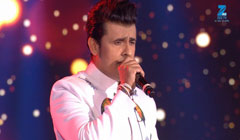 Sonu Nigam Performs on 'Abhi Mujh Mein Kahin' song - MMA 2017
