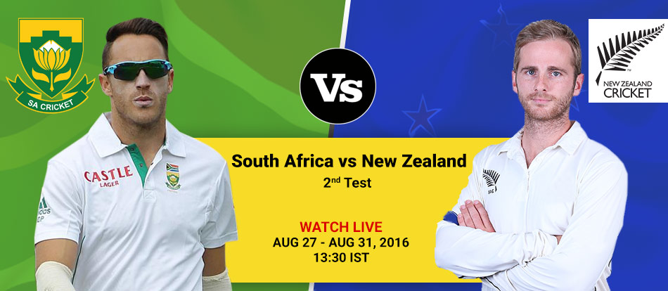 South Africa vs New Zealand 2nd Test Live Streaming Day 4
