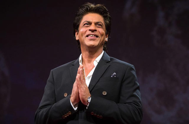 SRK's epic reply to journo who called him 'Salman'!
