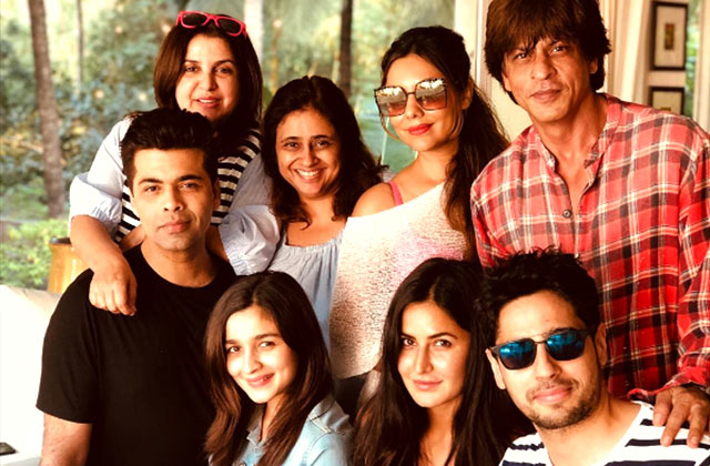 SRK's star-studded birthday in Alibaug