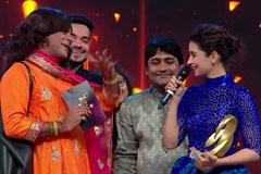 Sunil Grover's Fun Moment With Alia Bhatt   Zee Cine Awards 2018   OZEE Exclusive