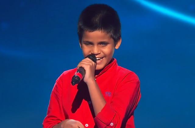 Tanish Kinalkar Sings Taare Zameen Par Song The Voice India Kids Season 2 - November 19, 2017 | &(AndTv)