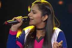 Tannishtha Puri Sings Surmayee Ankhiyon Mein | The Voice India Kids Season 2 - January 13, 2018 | &(AndTv)