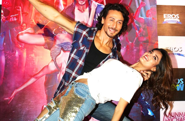 Tiger Shroff At Ding Dang Music Launch
