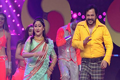 Vaishnavi, Ayub, Mahesh & Jayati Go Full Retro | Full Performance | Zee Gold Awards 2017