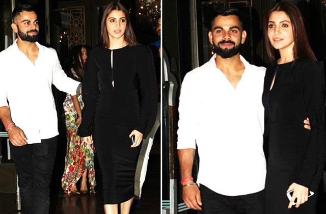 Virat Kohli & Anushka Sharma At Zaheer Khan & Sagarika Ghatge's Engagement  Party