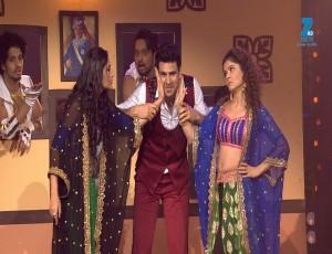 Vivek Dahiya,Surbhi Chandna and Rubina Dilaik | Big Entertainment Awards 2017 | OZEE Exclusive