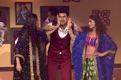 Vivek Dahiya's Flirty Performance With Rubina Dilaik & Surbhi Chandana | Big Entertainment Awards 2017 | OZEE Exclusive