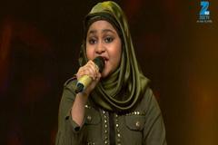 Yumna Ajin Singing Chak De India - Sa Re Ga Ma Pa Lil Champs 2017 - May 21, 2017 |ZEETV