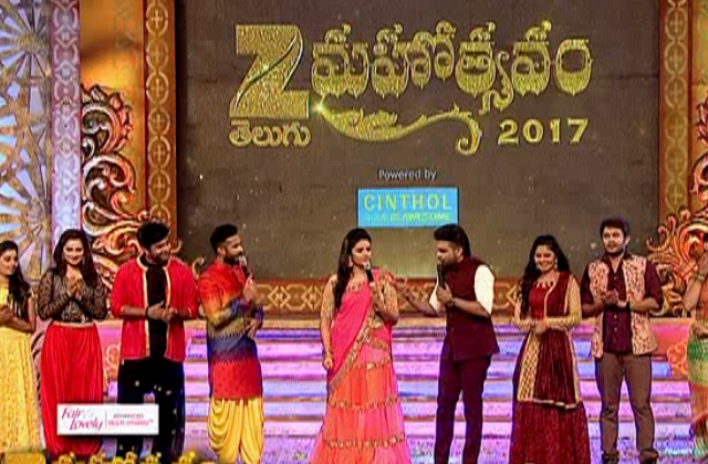 Zee Mahotsavam Grand Celebrations, On 28th May, Sunday at 5.00 PM to 9.00 PM Only On Zee Telugu