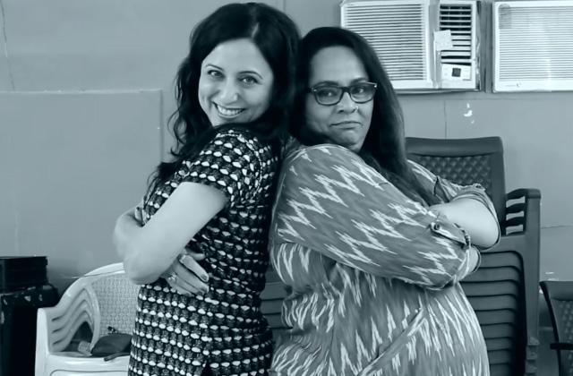 Zee Marathi Awards 2017 | Nirmiti Sawant & Kishori Shahane Rehearsals Fun | OZEE Exclusive
