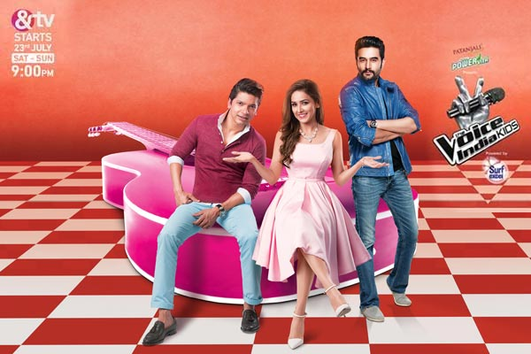 &TV is all set to add a new dimension to the singing reality shows with The Voice India Kids