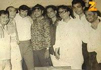 The Big Wigs - Anoop Kumar, S.D. Burman, Dev Anand, Kishore Kumar and R.D. Burman