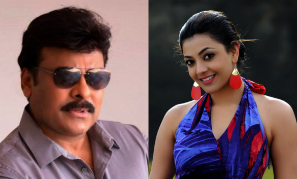 Working with Mega Star is amazing – Kajal Agarwal