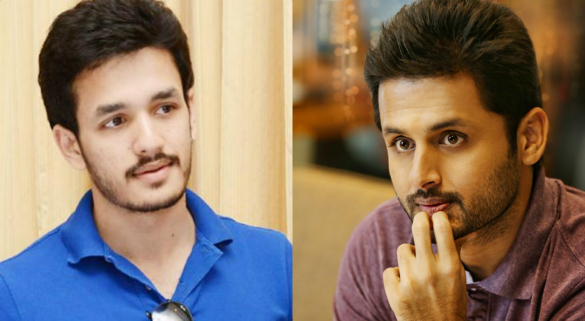 Nithin movie with Akhil's director..