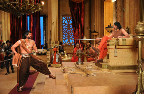 Bahubali-2 shooting spot stills