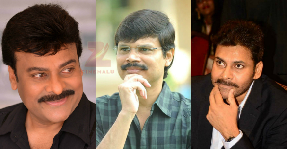 Boyapati plan for mega brothers..